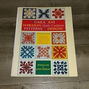 POAKALANI HAWAIIAN QUILT PATTERNS AND DESIGNS BOOK